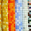 Stock Photo: Color tiles