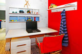 Study corner — Stock Photo