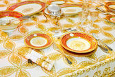 Luxury tableware — Stock Photo