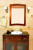Klassische badezimmer waschbecken — Stockfoto