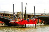 Rig platform bridge — Stock Photo