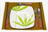 Herbal dish — Stock Photo