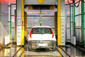 Carwash machine — Stock Photo