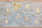 Foliage needlework — Stockfoto