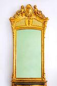 Golden mirror — Stock Photo