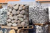 Construction stone — Stock Photo