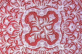 Lace handwork — Stock Photo