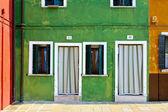 Retro facade — Stock Photo