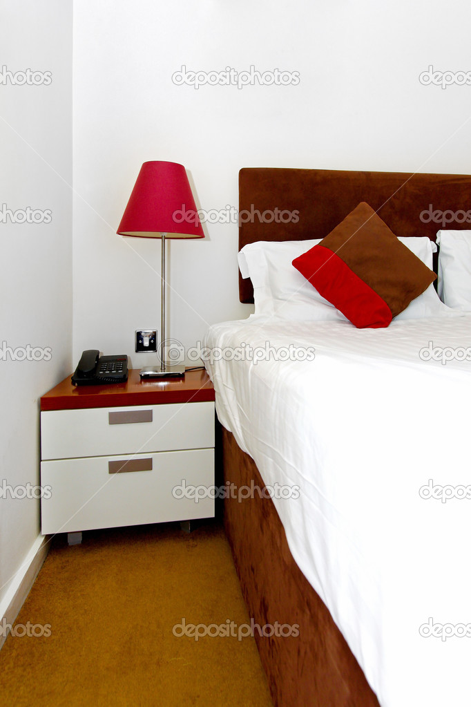 Small hotel room stock photo baloncici 3461545 for Small hotel room