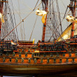 Tall ship model — Stock Photo