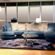 Blue sofa — Stock Photo #3488892