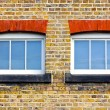 Two windows — Foto de Stock