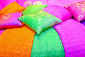 Colorful cushions — Stock Photo