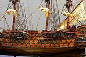 Tall ship model — Stock Photo