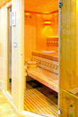 Sauna privada — Foto Stock