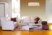White living room — Foto de Stock