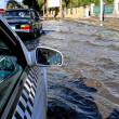 Stock Photo: Flood street