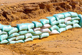 Sand bags — Stock Photo