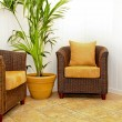 Royalty-Free Stock Photo: Rattan furniture