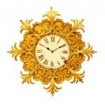 Antique clock — Stock Photo #3508464
