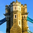 Stock Photo: Tower bridge pillar
