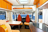 Camper interior — Stock Photo