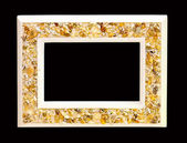 Seashells frame — Stock Photo