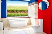 Koupelna zobrazení — Stock fotografie