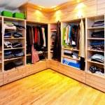 Big wardrobe — Stock Photo