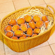 Potato basket — Stock Photo