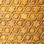 Jewish star pattern — Stock Photo #3538804