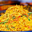 Spicy noodles — Stock Photo