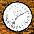 Stock Photo: Magnetic clock