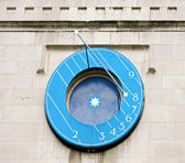 Sundial clock — Stock Photo
