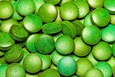 Green Spirulina — Stock Photo