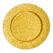 Gold plate — Stock Photo