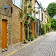 cobbled street — Stock Photo