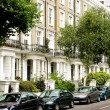 Stock Photo: London residential street