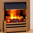Royalty-Free Stock Photo: Modern fireplace