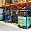 Stock Photo: Liquids warehouse