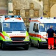 Stock Photo: Paramedic unit