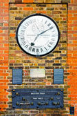 Greenwich clock — Stock Photo