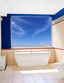 Vista de bañera — Foto de Stock