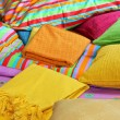 Bedding and pillows - Stockfoto