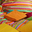 Bedding and sheets — Stock Photo