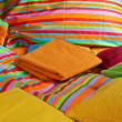 Stock Photo: Bedding and sheets