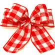 Red bow — Stock Photo