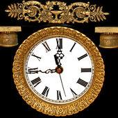Stary zegar — Zdjęcie stockowe