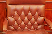 Armchair leather — Stock Photo