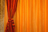 Curtain horizontal — Stock Photo